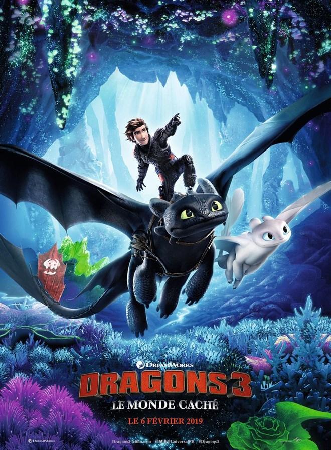 Avant-première |  Dragons 3 : Le monde caché