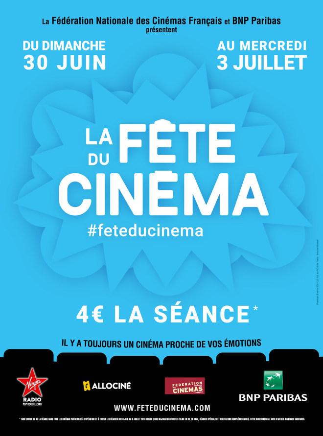 La Fête du Cinéma 2019
